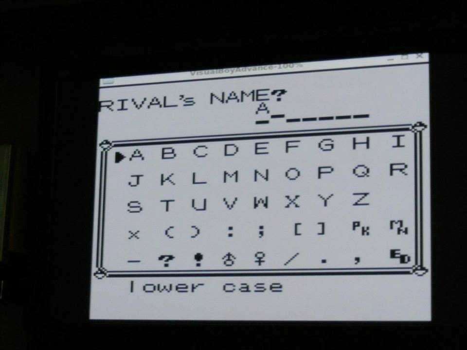 Playing Pokemon Red as a team